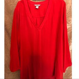 H & M Red Blouse